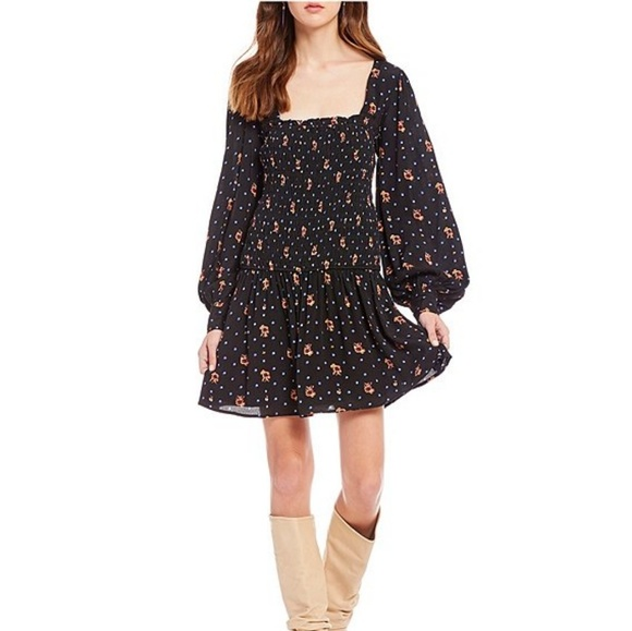 Free People Dresses & Skirts - Free people | Two Faces Floral Print Mini Dress